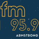 Logo da emissora Radio FM Armstrong 95.9