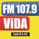 Logo da emissora Radio Vida 107.9 FM