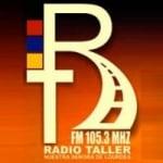 Logo da emissora Radio Taller 105.3 FM