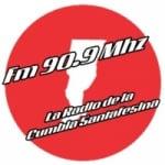Logo da emissora Radio de La Cumbia Santafesina 90.9 FM