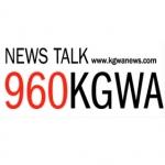 Logo da emissora Radio KGWA 960 AM