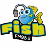 Logo da emissora Radio Fish 95.9 FM