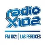 Logo da emissora Radio X102 102.1 FM