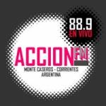 Logo da emissora Radio Acción 88.9 FM