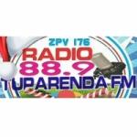 Logo da emissora Radio Tuparenda 88.9 FM