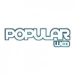 Logo da emissora Popular Web