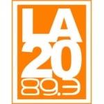 Logo da emissora Radio La 20 89.3 FM