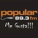 Logo da emissora Radio La Popu 89.3 FM