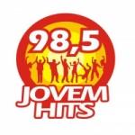 Logo da emissora Jovem Hits FM