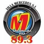 Logo da emissora Radio Milenium 89.3 FM