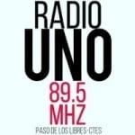 Logo da emissora Radio Uno 89.5 FM