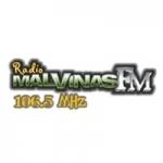 Logo da emissora Radio Malvinas 106.5 FM