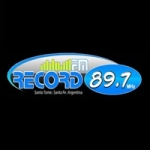 Logo da emissora Radio Record 89.7 FM