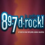 Logo da emissora Radio D-Rock 89.7 FM