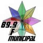Logo da emissora Radio Municipal 89.9 FM