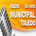Logo da emissora Radio Municipal 90.1 FM