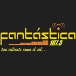 Logo da emissora Radio Fantástica 107.3 FM