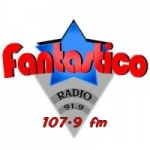 Logo da emissora Radio Fantástica 107.9 FM