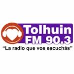 Logo da emissora Radio Tolhuin 90.3 FM