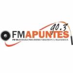 Logo da emissora Radio Apuntes 90.3 FM