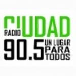 Logo da emissora Radio Ciudad 90.5 FM