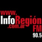 Logo da emissora Radio Región 90.5 FM