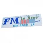 Logo da emissora Radio La Base 90.7 FM