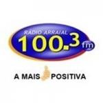 Logo da emissora Arraial FM