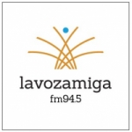 Logo da emissora Radio La Voz Amiga 94.5 FM