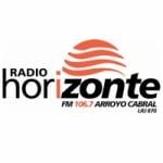 Logo da emissora Radio Horizonte 106.7 FM