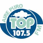 Logo da emissora Radio Top 107.5 FM