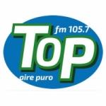 Logo da emissora Radio Top 105.7 FM