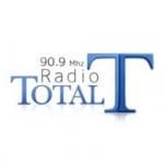 Logo da emissora Radio Total 90.9 FM