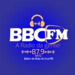 Logo da emissora Rádio BBC 87.9 FM