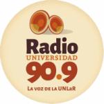 Logo da emissora Radio UNLAR 90.9 FM