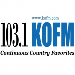 Logo da emissora KOFM 103.1 FM