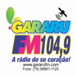 Logo da emissora Rádio Gararu 104.9 FM