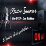 Logo da emissora Radio Innovar 91.1 FM