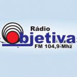 Logo da emissora Rádio Objetiva 104.9 FM
