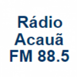 Logo da emissora Rádio Acauã 88.5 FM