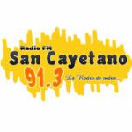 Logo da emissora Radio San Cayetano 91.3 FM
