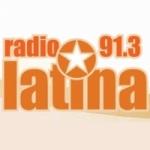 Logo da emissora Radio Latina 91.3 FM