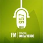 Logo da emissora Radio Estación Onda Verde 95.7 FM