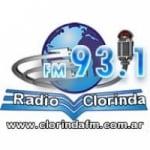 Logo da emissora Radio Clorinda 93.1 FM