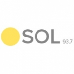 Logo da emissora Radio Sol 93.7 FM
