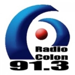 Logo da emissora Radio Colon 91.3 FM