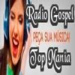 Logo da emissora Rádio Gospel Top Mania