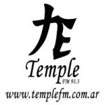 Logo da emissora Radio Temple FM 93.3 FM