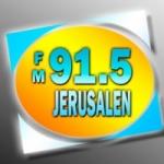 Logo da emissora Radio Jerusalen 91.5 FM