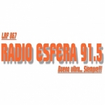 Logo da emissora Radio Esfera 91.5 FM